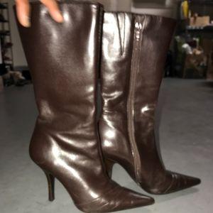 Brown ALDO Boot Heels